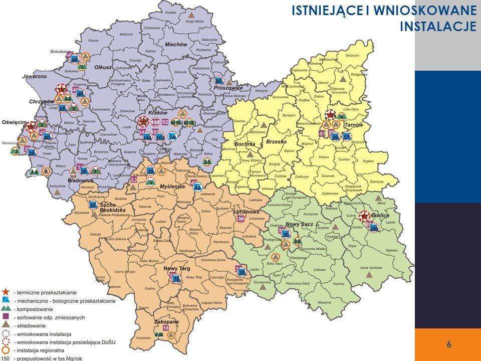 NrNazwa regionu Ludność ogółem [tys.] Odpady wytworzone w 2010 r.