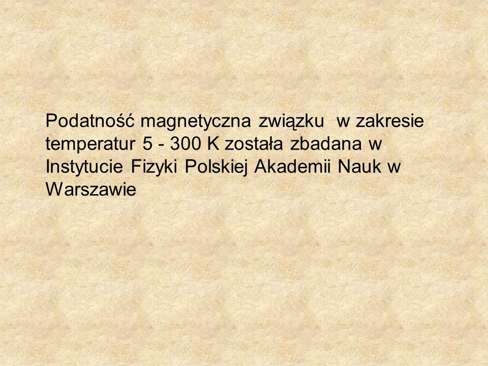 Pomiary dyfrakcji neutronów dla związków Mg 3 Fe 4 V 6 O 24, Mn 3 Fe 4 V 6 O 24 i Zn 3 Fe 4 V 6 O 24 dla temperatur 10 K i 290 K wykonano w Frank Laboratory of Neutron Physics, Dubna, Russia