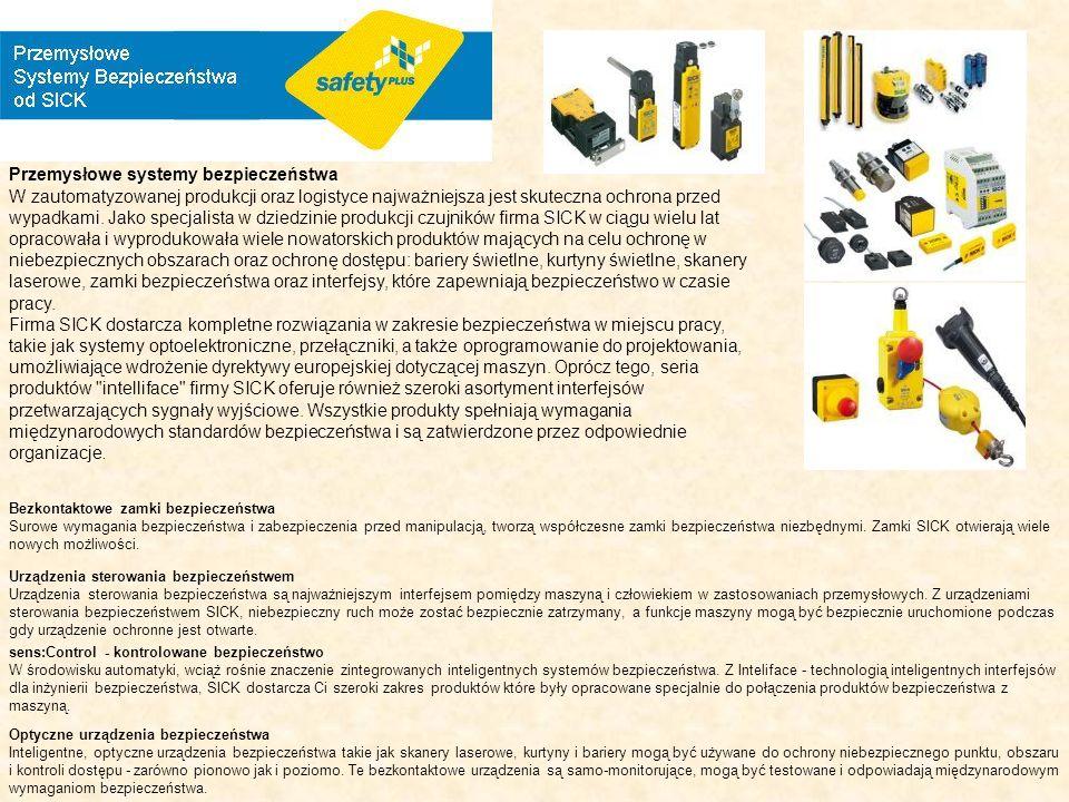 Przemysłowe systemy bezpieczeństwa W zautomatyzowanej produkcji oraz logistyce najważniejsza jest skuteczna ochrona przed wypadkami. Jako specjalista