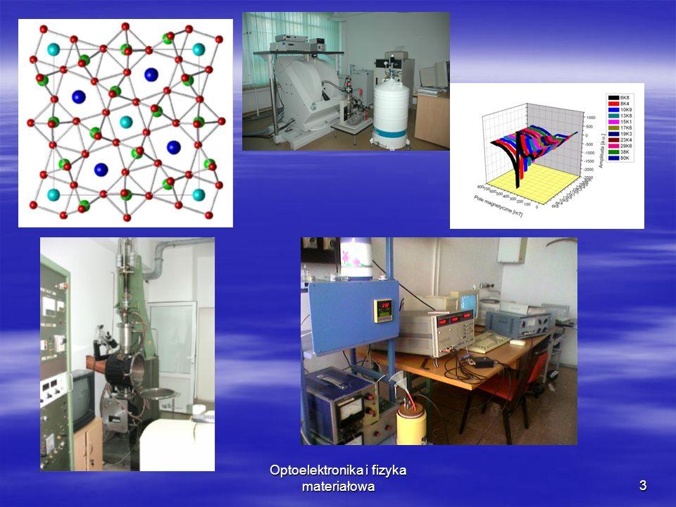 Optoelektronika i fizyka materiałowa 10.