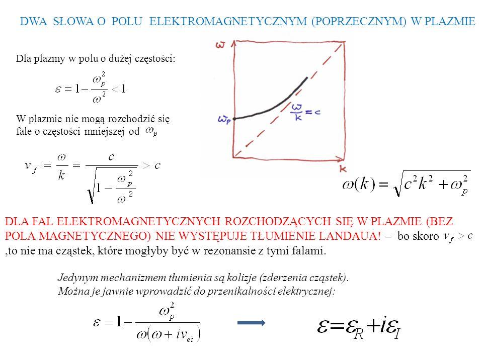 RÓWNANIA KINETYCZNE ile cząstek na jednostkę objętości w przestrzeni fazowej np.