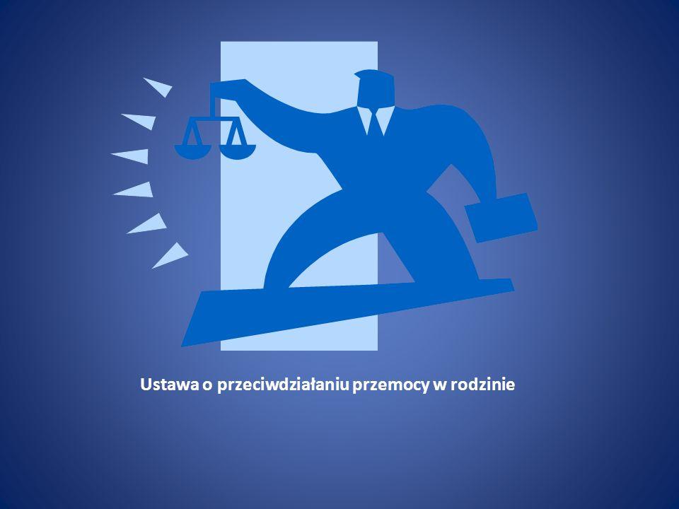 Ustawa o przeciwdziałaniu przemocy w rodzinie