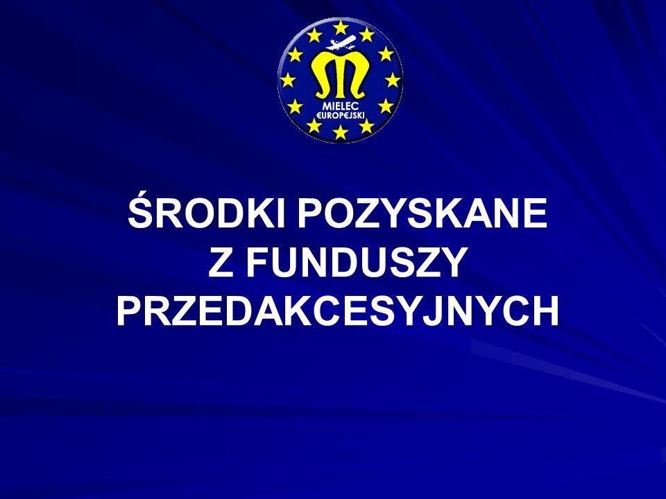 Nazwa inwestycji Budowa sieci telekomunikacyjnej w zakresie sprzętu komutacyjnego Nazwa programu UE PHARE STRUDER WARTOŚĆ INWESTYCJI 2 042 965,63 % dofinansowania UE 55,15 % KWOTA DOTACJI 1 126 849,00