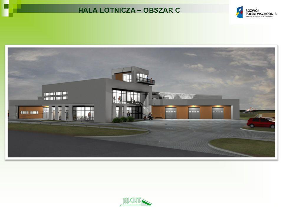 HALA LOTNICZA – OBSZAR C
