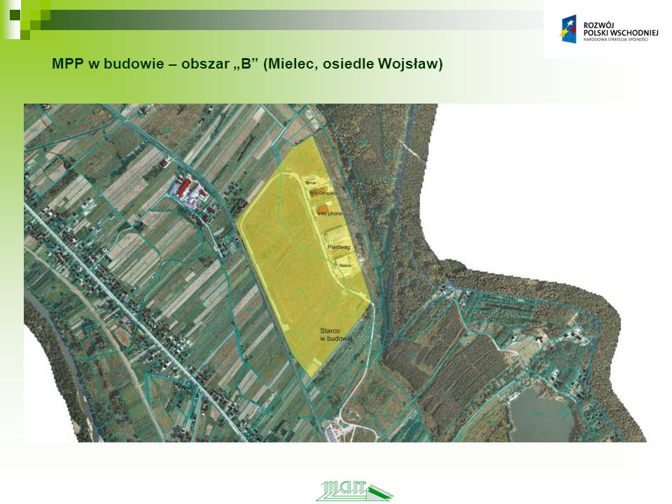 MPP w budowie – obszar B (Mielec, osiedle Wojsław)
