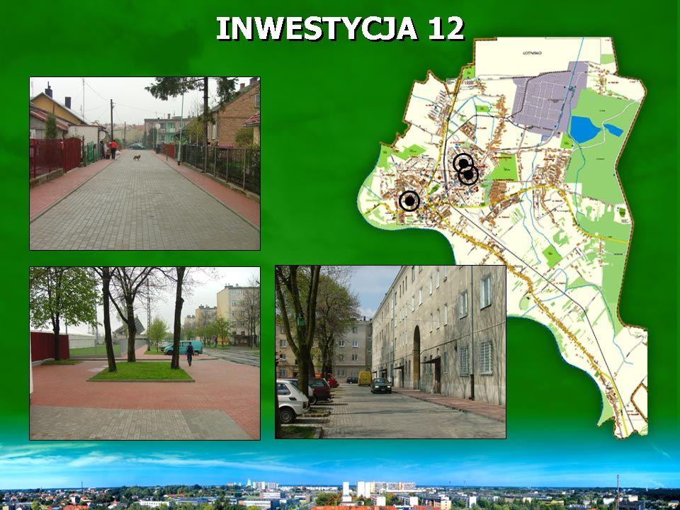 INWESTYCJA 12 Pozycja ta obejmuje budowę ul.Chodkiewicza oraz parkingu przy ul.