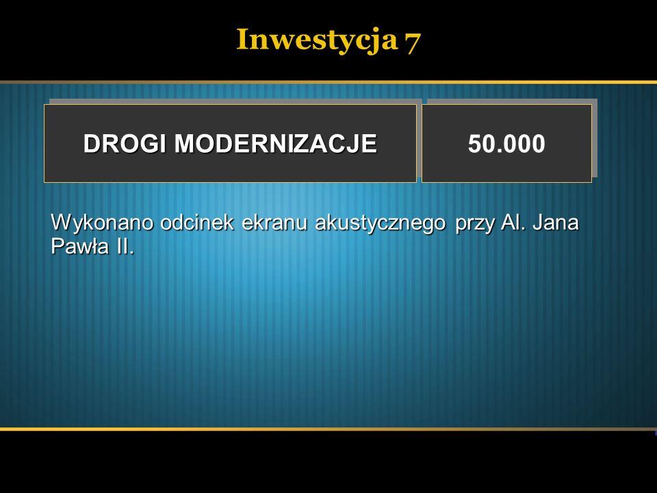 Inwestycja 8 BUDOWA I ROZBUDOWA UKŁADU DROGOWEGO NA TERENIE MIASTA MIELCA W TYM: BUDOWA I ROZBUDOWA UKŁADU DROGOWEGO NA TERENIE MIASTA MIELCA W TYM: 5.119.284