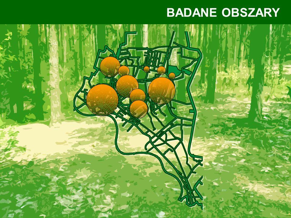 BADANE OBSZARY