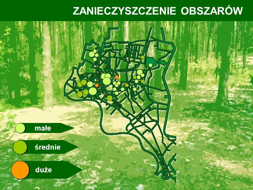 - pojedyncze miejsca zaśmiecone, w szczególności wzdłuż dróg leśnych (droga do stawów) Stwierdzone uchybienia i nieprawidłowości Tereny administrowane przez Nadleśnictwo Mielec