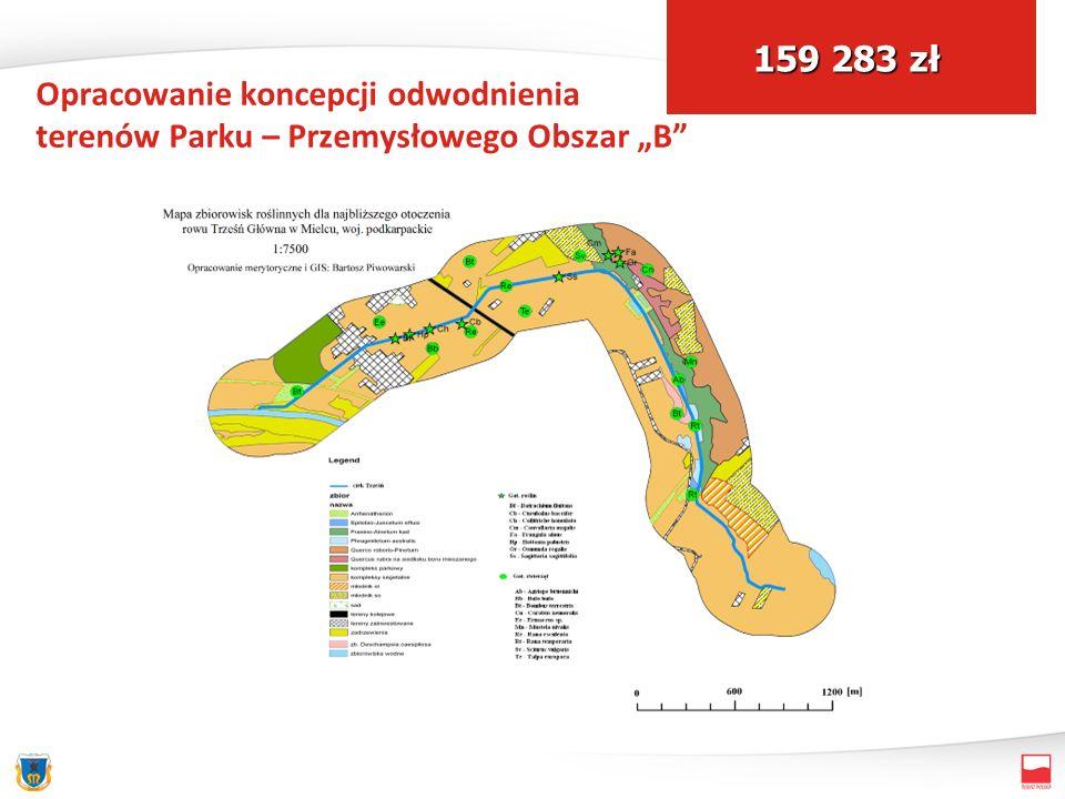 Opracowanie koncepcji odwodnienia terenów Parku – Przemysłowego Obszar B 159 283 zł