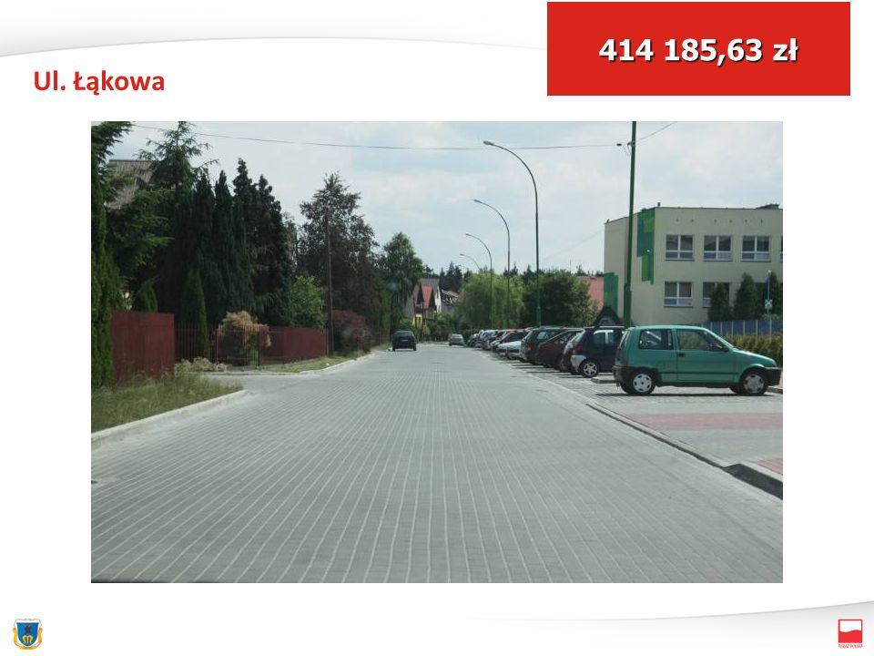 Ul. Łąkowa 414 185,63 zł