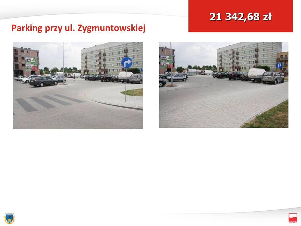 Parking przy ul. Zygmuntowskiej 21 342,68 zł