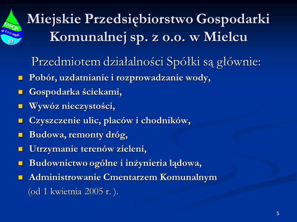26 Miejskie Przedsiębiorstwo Gospodarki Komunalnej sp.