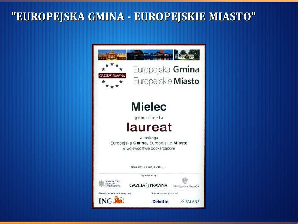 EUROPEJSKA GMINA - EUROPEJSKIE MIASTO