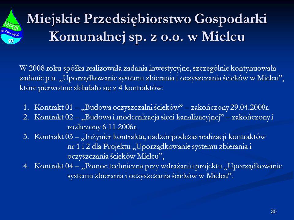 30 Miejskie Przedsiębiorstwo Gospodarki Komunalnej sp.