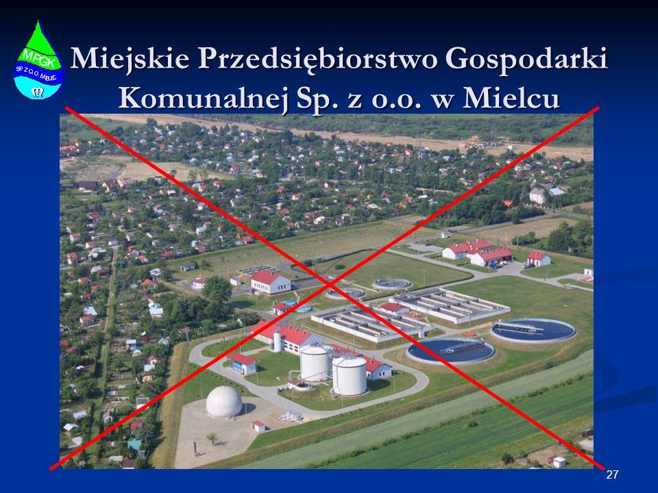 Miejskie Przedsiębiorstwo Gospodarki Komunalnej Sp. z o.o. w Mielcu 27