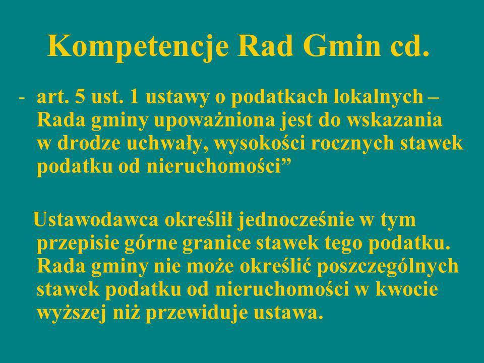 Skutki podwyższenia stawek podatkowych dla budżetu gminy na 2012 rok Przedmiot opodatkowania Skutki (w tys.