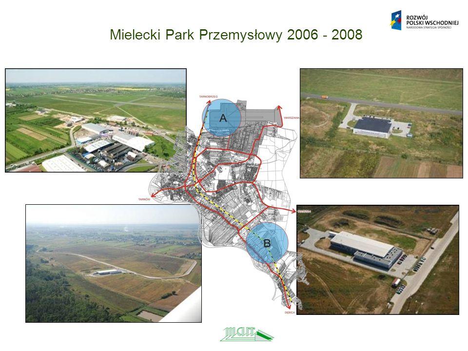 Mielecki Park Przemysłowy 2006 - 2008