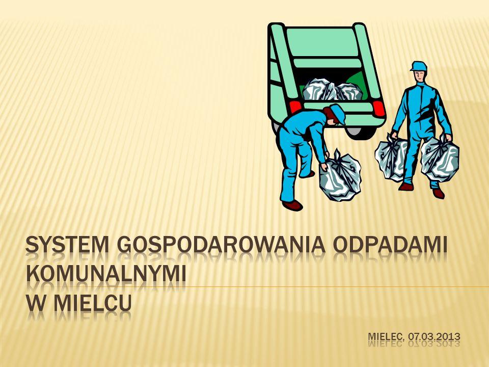Według ustawy o odpadach z dnia 14 grudnia 2012 r.