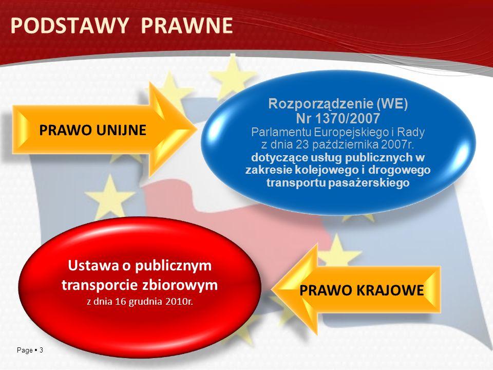 Page 3 Rozporządzenie (WE) Nr 1370/2007 Parlamentu Europejskiego i Rady z dnia 23 października 2007r. dotyczące usług publicznych w zakresie kolejoweg