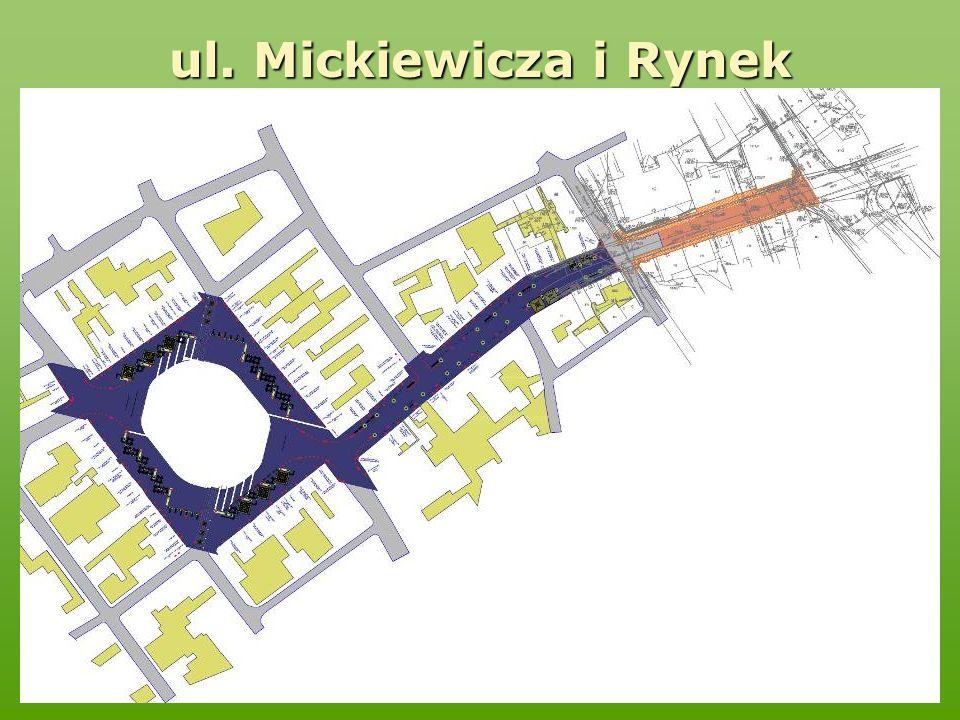 ul. Mickiewicza i Rynek
