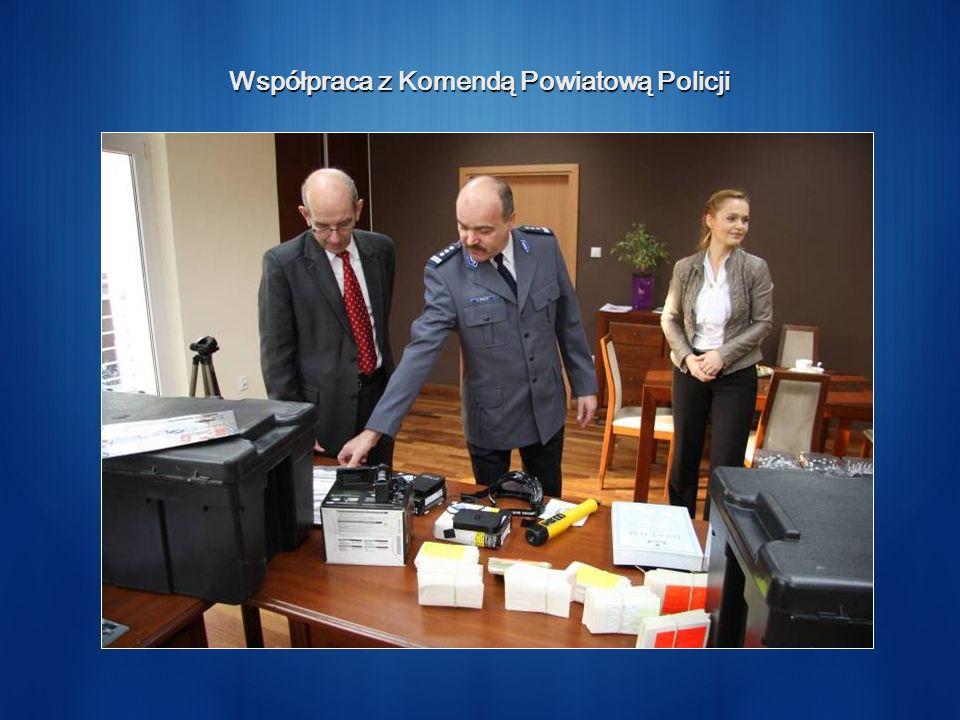 Współpraca z Komendą Powiatową Policji