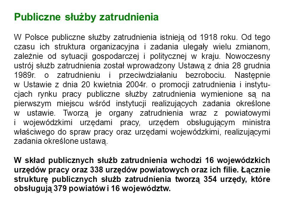 Z dniem wejścia Polski do UE publiczne służby zatrudnienia naszego kraju stały się członkiem sieci Europejskich Służb Zatrudnienia – EURES.