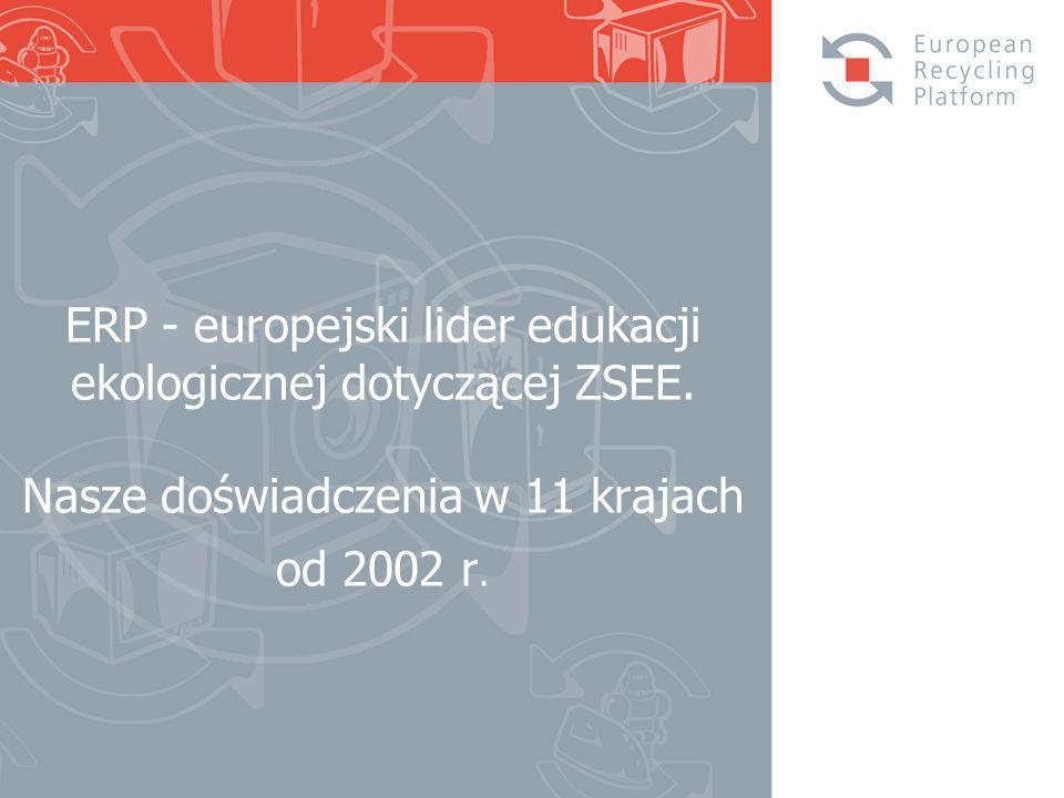 ERP - europejski lider edukacji ekologicznej dotyczącej ZSEE.