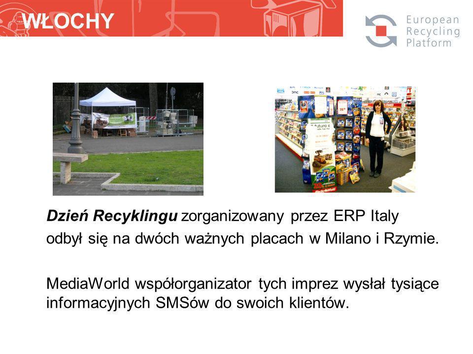 Dzień Recyklingu zorganizowany przez ERP Italy odbył się na dwóch ważnych placach w Milano i Rzymie.