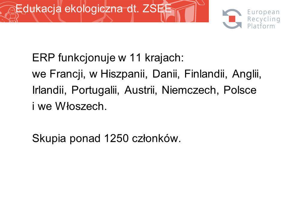 ERP funkcjonuje w 11 krajach: we Francji, w Hiszpanii, Danii, Finlandii, Anglii, Irlandii, Portugalii, Austrii, Niemczech, Polsce i we Włoszech.