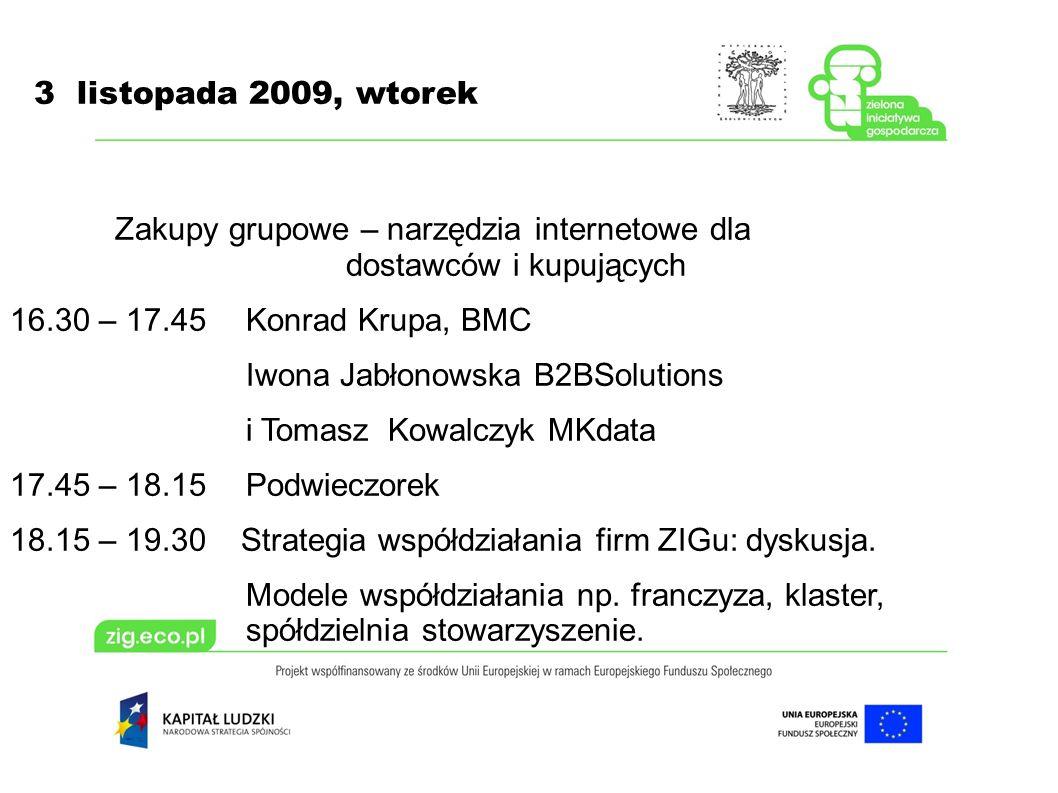 3 listopada 2009, wtorek Franczyza cd..PROFIT system, Warszawa: Marcin Kaleta tel.