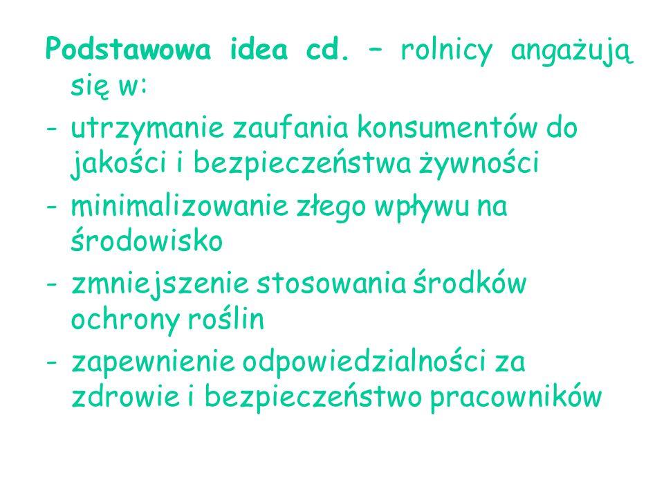 Podstawowa idea cd.