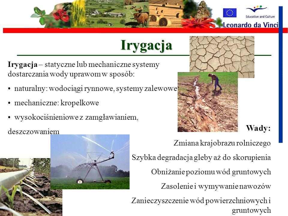 Proekologiczna alternatywa dla monokultur to: Systemy rotacji upraw - płodozmianu Ta metoda była ogólnie wytyczną przeciwko monokulturom i uprawom z t