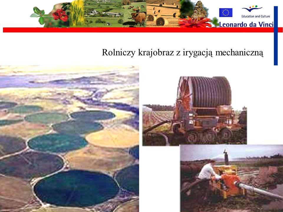 Irygacja Irygacja – statyczne lub mechaniczne systemy dostarczania wody uprawom w sposób: naturalny: wodociągi rynnowe, systemy zalewowe mechaniczne: