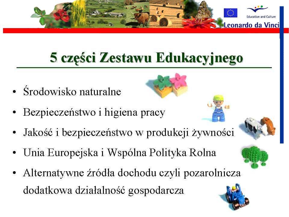 Rolnictwo a środowisko naturalne mgr Renata Myczko Zestaw Edukacyjny dla młodych rolników z krajów nowo przyjętych do UE YOUTH - Farm