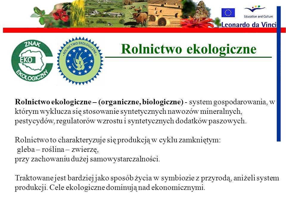 W zgodzie z naturą czyli rolnictwo ekologiczne