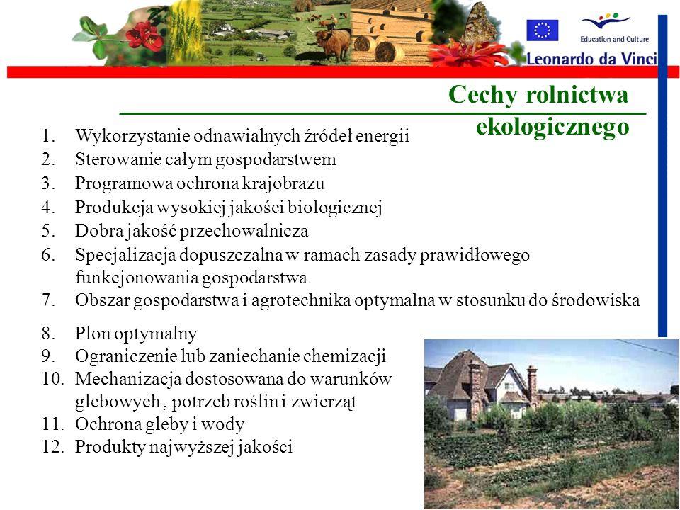 Rolnictwo ekologiczne Rolnictwo ekologiczne – (organiczne, biologiczne) - system gospodarowania, w którym wyklucza się stosowanie syntetycznych nawozó