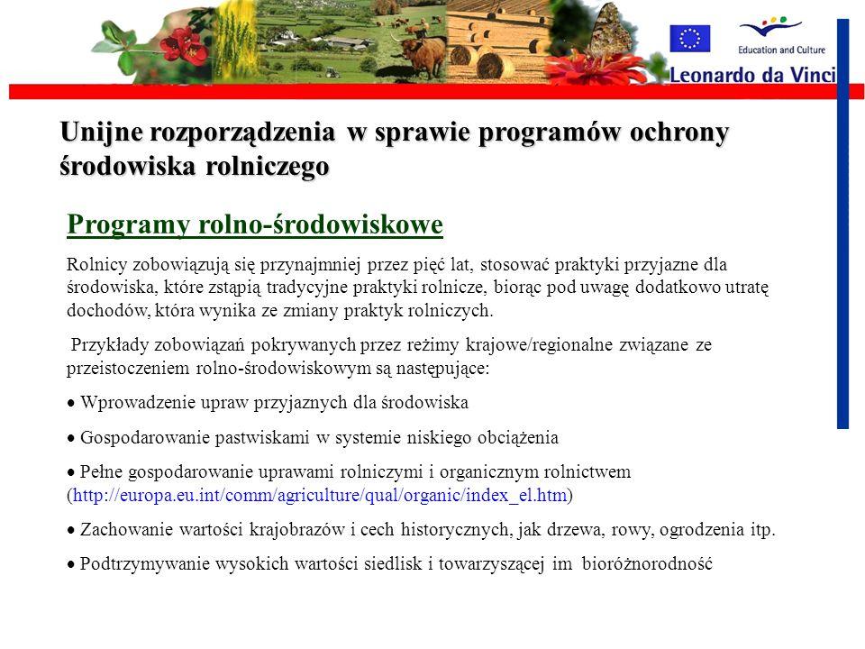 Polityka dla Rolnika czyli programy UE dla rolnictwa