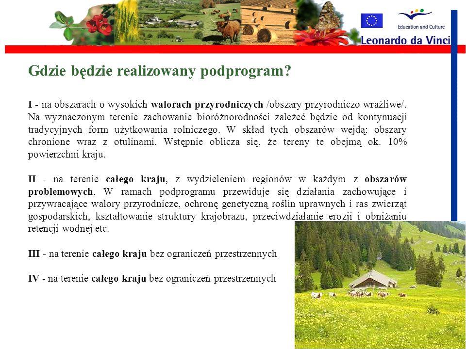 Co to są programy rolnośrodowiskowe? Programy te jako jedyne są obowiązkowe dla wszystkich krajów członkowskich i pełnią kluczową rolę w realizacji pl
