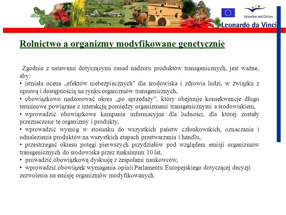 Zasoby genetyczne i rolnictwo Program ten działa na rzecz różnorodności genetycznej i wymiany informacji, obejmując ścisłą koordynację między państwam