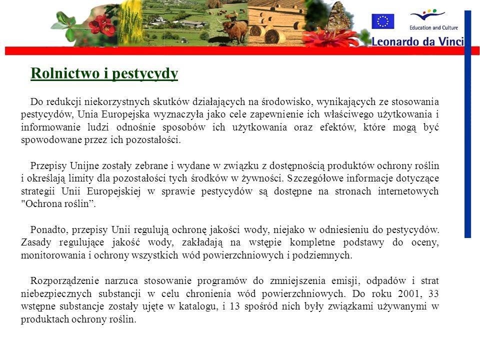 Rolnictwo i ochrona gleby Wspólne Polityki Rolne wzmacniają wzory na dobre praktyki rolnicze i środowiskowe, w odniesieniu do zabezpieczenia gleby prz