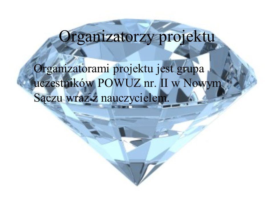 Organizatorzy projektu Organizatorami projektu jest grupa uczestników POWUZ nr.