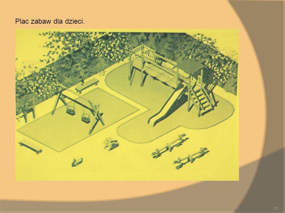 Plac zabaw dla dzieci. 13