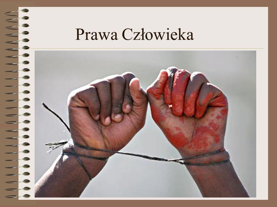 Łamanie praw człowieka W dzisiejszych czasach wiele mówi się międzynarodowych prawach człowieka.