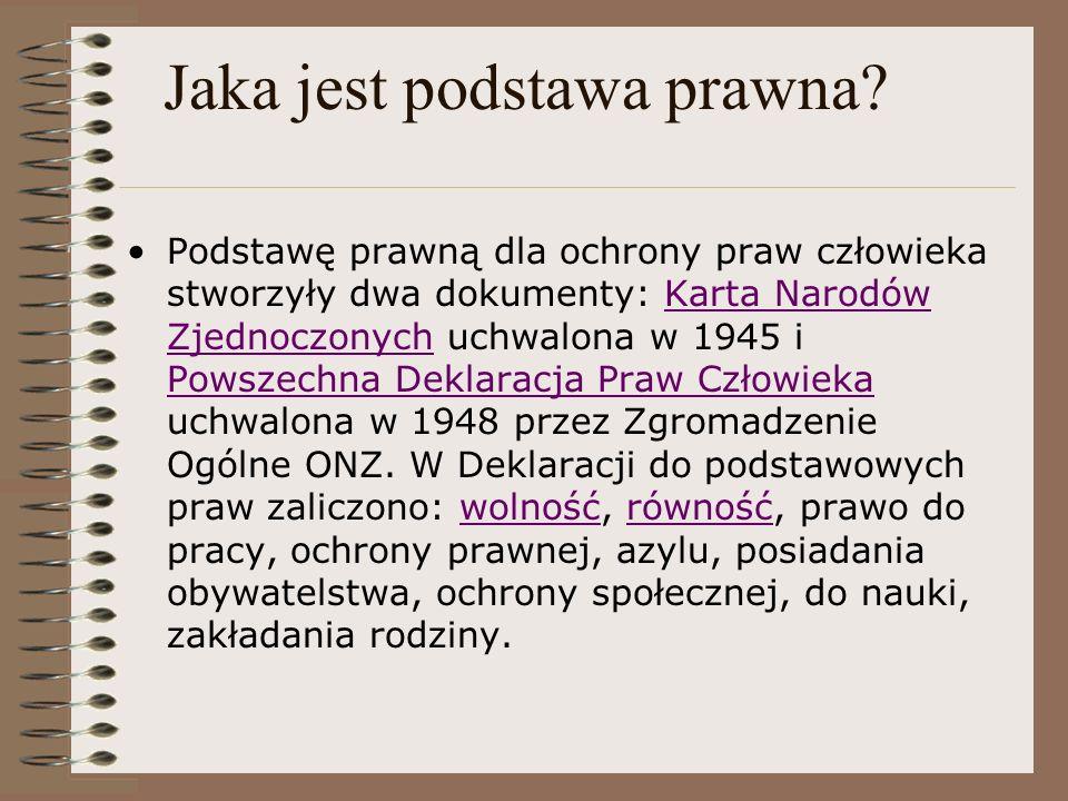 Pakty i zgromadzenie, Kiedy.