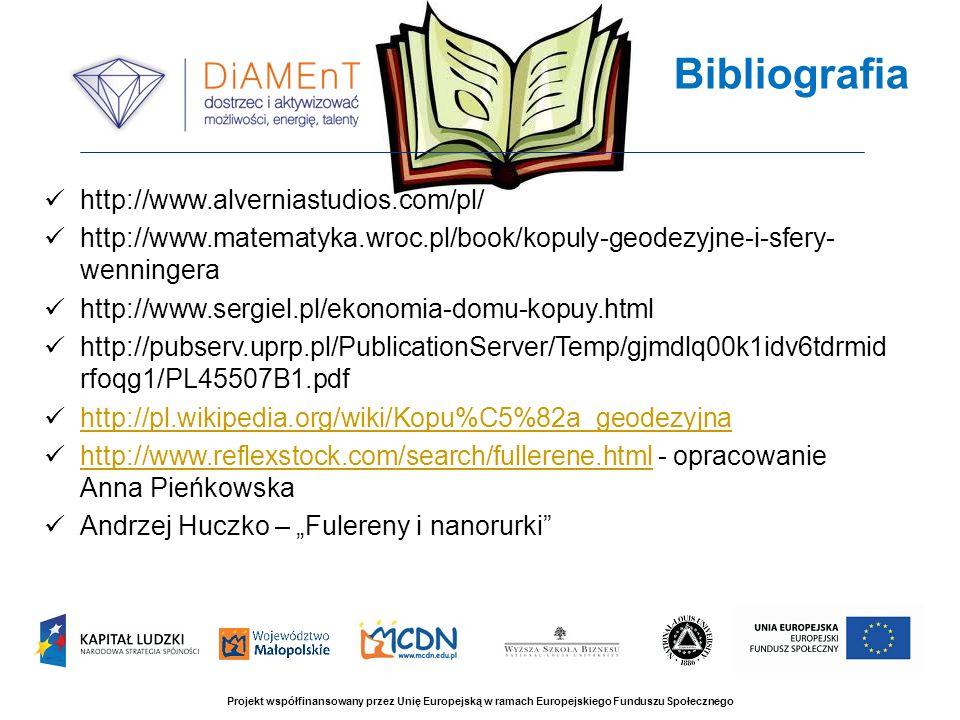 http://www.alverniastudios.com/pl/ http://www.matematyka.wroc.pl/book/kopuly-geodezyjne-i-sfery- wenningera http://www.sergiel.pl/ekonomia-domu-kopuy.