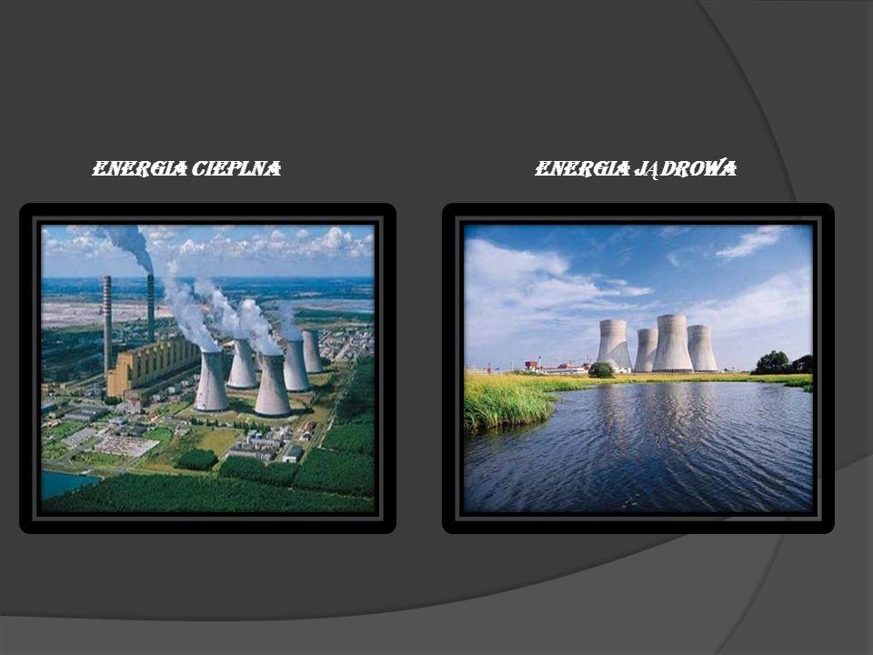 ENERGIA WODNA: ZALETY: Czyste odnawialne źródło energii, Możliwość szybkiego zatrzymywania i uruchamiania elektrowni, Małe problemy przy utrzymywaniu i eksploatacji elektrowni, Sztuczne zbiorniki wodne gromadzą wodę, zmniejszając ryzyko powodzi, darmowa energia.