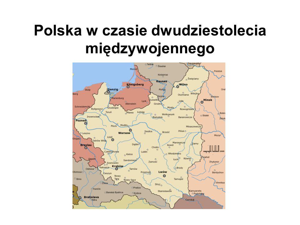 Polska w czasie dwudziestolecia międzywojennego