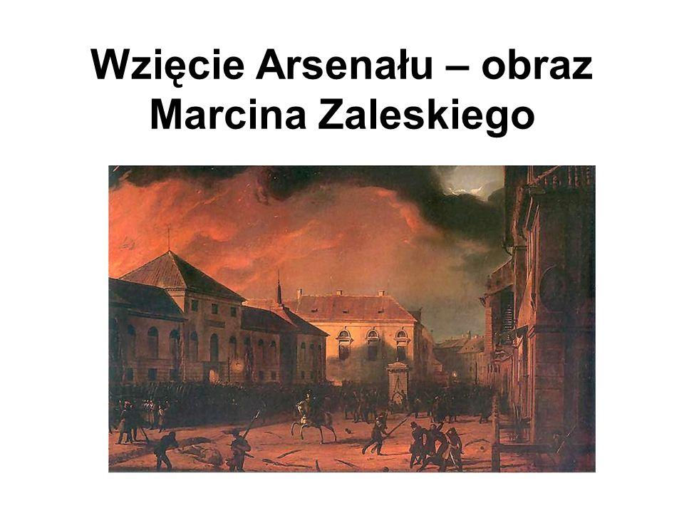 Wzięcie Arsenału – obraz Marcina Zaleskiego
