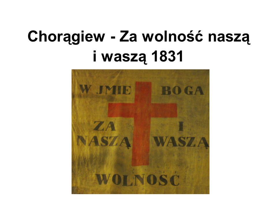 Herb powstańczy, symbolizował złączenie 3 narodów Rzeczypospolitej: Polski (Orzeł Biały), Litwy (Pogoń) i Ukrainy (Michał Archanioł, herb Rusi Kijowskiej)